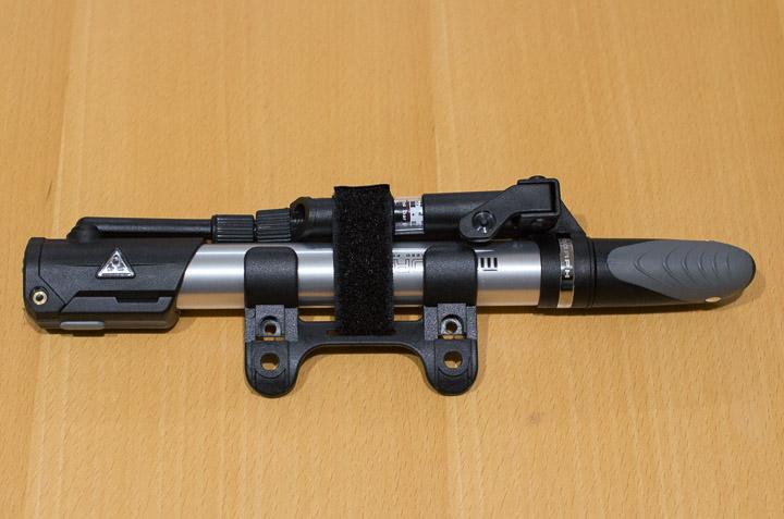 ホルダーTPD-2Cを装着。ピッタリ