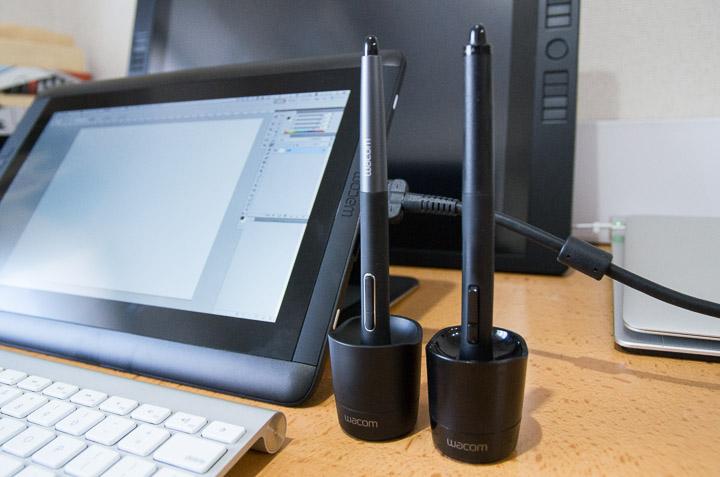 Intuos 4のペンとCintiq 13HDのペンは互換性があって、どちらにも使えることが判明