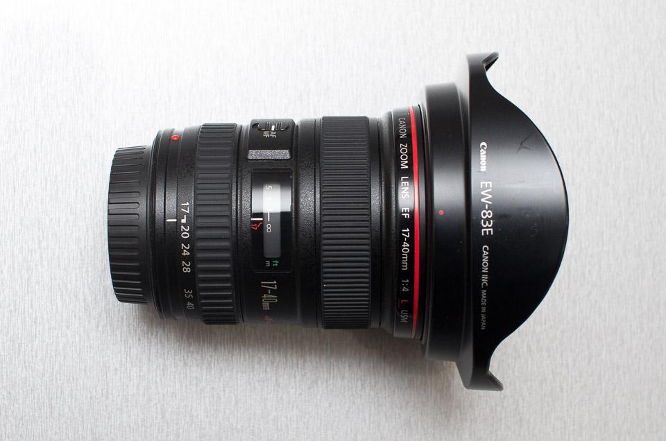 canon ef17 40mm f4l usm購入 手持ちのlレンズとサイズ比較してみた