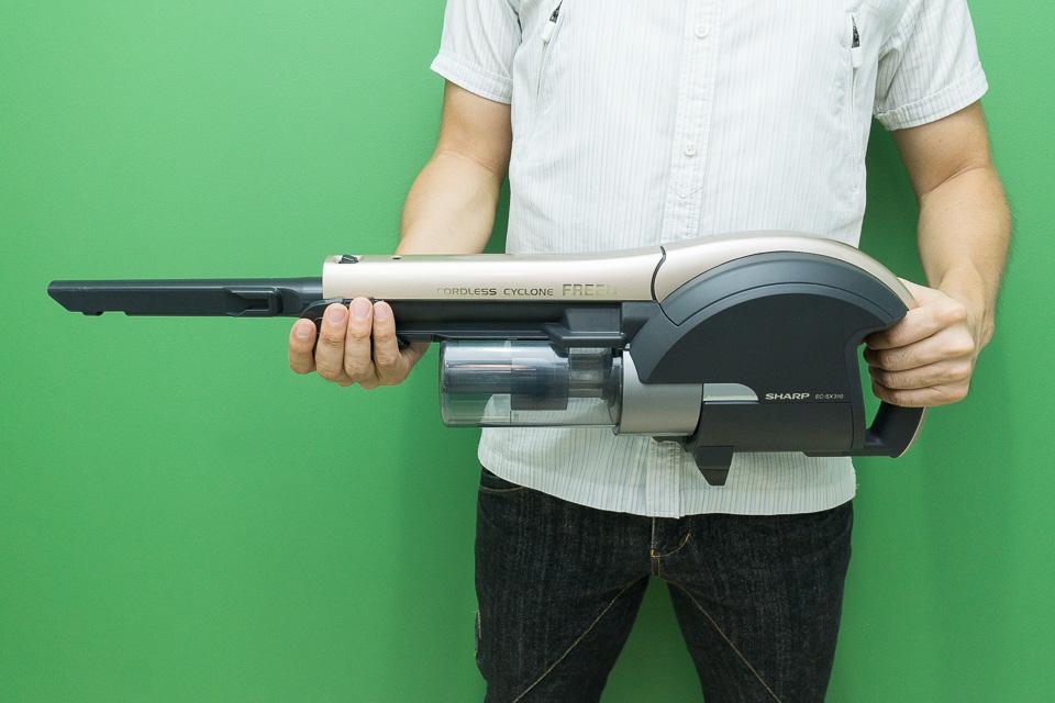 すき間ノズルをつけると本当にSF系の武器っぽい